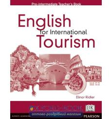 Книга для учителя English for International Tourism Pre-Interm Teachers book ISBN 9780582479906 купить Киев Украина