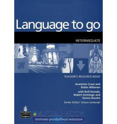 Книга для учителя Language to Go Interm Teachers book 9780582404151 купить Киев Украина