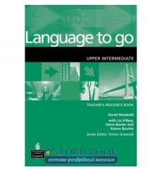 Книга для учителя Language to Go Upper-Interm Teachers book 9780582404168 купить Киев Украина