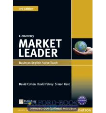 Книга Market Leader 3ed Elem Active Teach ISBN 9781408259955