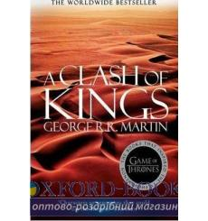 Книга Clash Of Kings (New Reissue) George R. R. Martin ISBN 9780007548248 купить Киев Украина