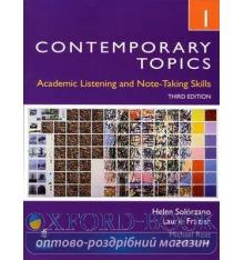 Книга Contemporary Topics 1 3d Ed ISBN 9780132355704