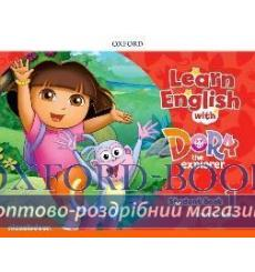 Learn English with Dora the Explorer 1 students book 9780194052146 купить Киев Украина
