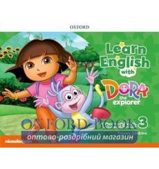 Learn English with Dora the Explorer 3 students book 9780194052207 купить Киев Украина