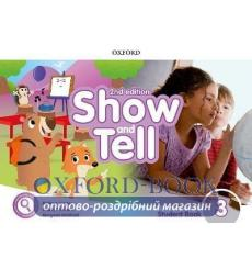 Книга Show and Tell 3 students book Pack 2nd Edition 9780194054553 купить Киев Украина
