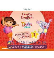 Learn English with Dora the Explorer 1 Phonics and Literacy 9780194057219 купить Киев Украина