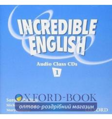 Книга Incredible English 1 Class Audio CD(2) ISBN 9780194440370 купить Киев Украина