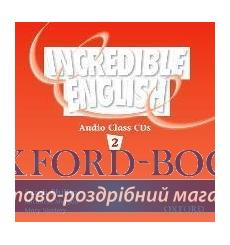 Книга Incredible English 2 Class Audio CD(2) ISBN 9780194440387 купить Киев Украина