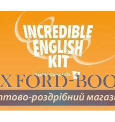 Книга Incredible English 4 Class Audio CD(3) ISBN 9780194440400 купить Киев Украина
