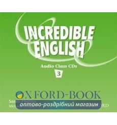 Книга Incredible English 3 Class Audio CD(3) ISBN 9780194440455 купить Киев Украина