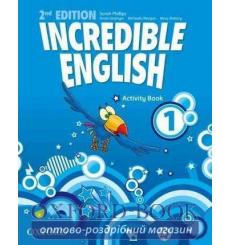 Тетрадь Incredible English 1 Activity book 2nd Edition 9780194442404 купить Киев Украина