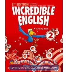 Тетрадь Incredible English 2 Activity book 2nd Edition 9780194442411 купить Киев Украина