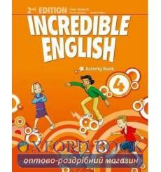 Тетрадь Incredible English 4 Activity book 2nd Edition 9780194442435 купить Киев Украина