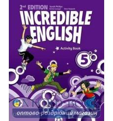 Тетрадь Incredible English 5 Activity book 2nd Edition 9780194442442 купить Киев Украина
