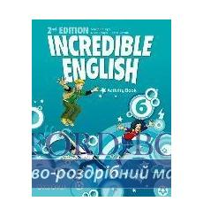 Тетрадь Incredible English 6 Activity book 2nd Edition 9780194442459 купить Киев Украина