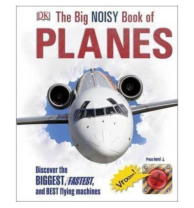 Книга The Big Noisy Book of Planes ISBN 9780241228289