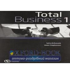 Тетрадь Total business 1 Pre-Intermediate workbook 9780462098623 купить Киев Украина