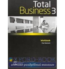 Тетрадь Total business 3 Upper-Intermediate workbook 9780462098708 купить Киев Украина