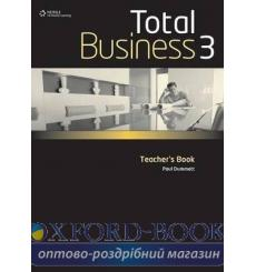 Книга для учителя Total business 3 Upper-Intermediate Teachers Book 9780462098715 купить Киев Украина