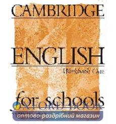 Тетрадь Cambridge English For Schools 1 workbook 9780521421737 купить Киев Украина