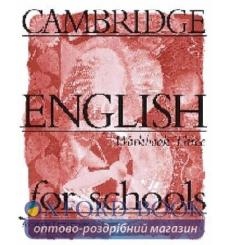 Тетрадь Cambridge English For Schools 3 workbook 9780521421751 купить Киев Украина