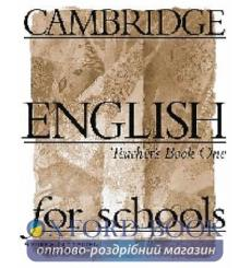 Книга для учителя Cambridge English For Schools 1 teachers book 9780521421775 купить Киев Украина