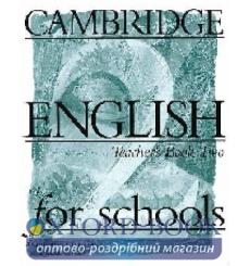 Книга для учителя Cambridge English For Schools 2 teachers book 9780521421782 купить Киев Украина