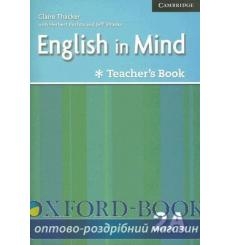 Книга для учителя English in Mind Combo 2A Teachers Resource Book ISBN 9780521706469 купить Киев Украина