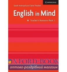 Книга English in Mind 1 Teachers Resource Pack ISBN 9780521750523 купить Киев Украина