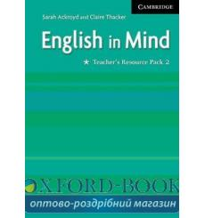 Книга для учителя English in Mind 2 Teachers Resource Pack ISBN 9780521750615 купить Киев Украина