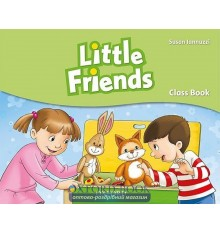Учебник Little Friends Student Book ISBN 9780194432221