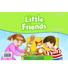Карточки Little Friends: Flashcards ISBN 9780194432252