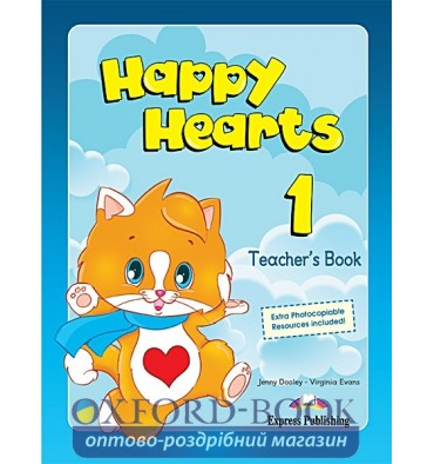 Книга для учителя Happy Hearts 1 Teachers Book ISBN 9781848626379