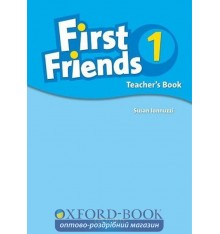 Книга для учителя First Friends 1: teachers book ISBN 9780194432078