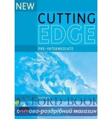 Тетрадь Cutting Edge Pre-Interm New workbook+key 9780582825116 купить Киев Украина