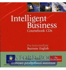 Диск Intelligent Business Pre-Interm Class CD (2) adv ISBN 9780582840515-L купить Киев Украина