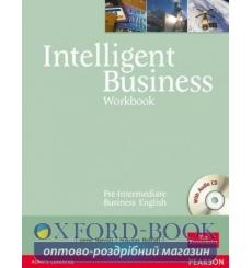 Тетрадь Intelligent Business Pre-Intermediate Тетрадь + CD 9780582846951 купить Киев Украина