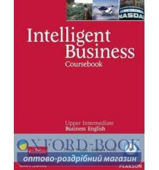 Книга Intelligent Business Upper-inter CB + CD ISBN 9780582848092 купить Киев Украина