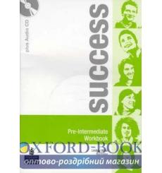 Тетрадь Success Pre-Interm workbook+Audio CD 9780582855526 купить Киев Украина
