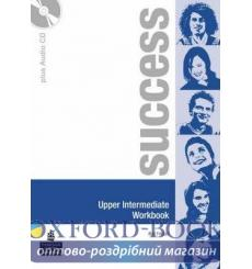 Тетрадь Success Upper-Interm workbook+Audio CD 9780582855663 купить Киев Украина