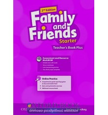 Книга для учителя Family and Friends 2nd Edition Starter Teachers Book Plus Pack ISBN 9780194808828