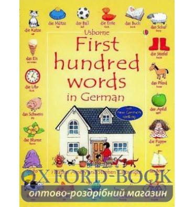 Книга First 100 Words in German ISBN 9780746058220
