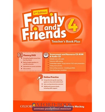 Family and Friends 2nd Edition 4: Teacher's Book Pack