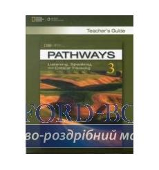 Книга для учителя Pathways 3: Listening, Speaking, and Critical Thinking Teachers Guide 9781111830823 купить Киев Украина
