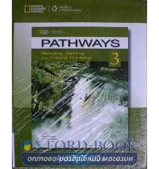 Pathways 3: Reading, Writing and Critical Thinking Audio CD(s) 9781133317357 купить Киев Украина
