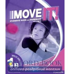 Книга Move It! 1B Student Book Split Workbook+CD 9781292104959 купить Киев Украина