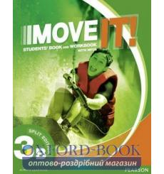 Книга Move It! 3B Student Book Split Workbook+CD 9781292104997 купить Киев Украина