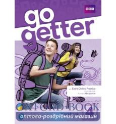 Тетрадь Go Getter 4 workbook with ExtraOnlinePractice 9781292210094 купить Киев Украина