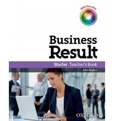 Business Result Starter Teacher's Book & DVD Pack