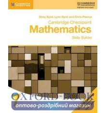 Книжка Cambridge Checkpoint Mathematics 7 Skills Builder ISBN 9781316637371